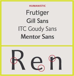 Humanistic Sans Serifs